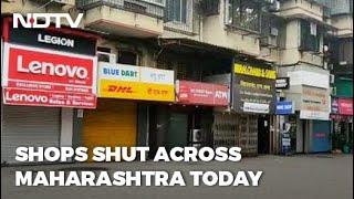 Maharashtra Bandh: Bus Services Affected, Shops Closed In Mumbai