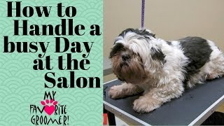 How to handle a busy day at the salon thumbnail