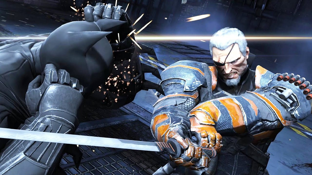 BATMAN: ARKHAM ORIGINS Deathstroke Bossfight Shows How You Become ...