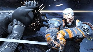 Batman Arkham Origins: Deathstroke Boss Fight (4K 60fps)
