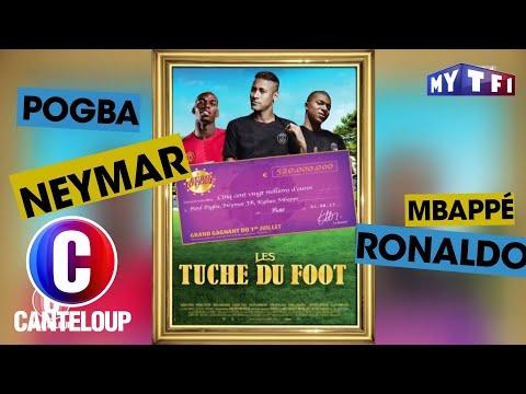 """Neymar, Mbappé et Ronaldo sont """"Les Tuche du Foot"""" - C'est Canteloup du 11 octobre..."""