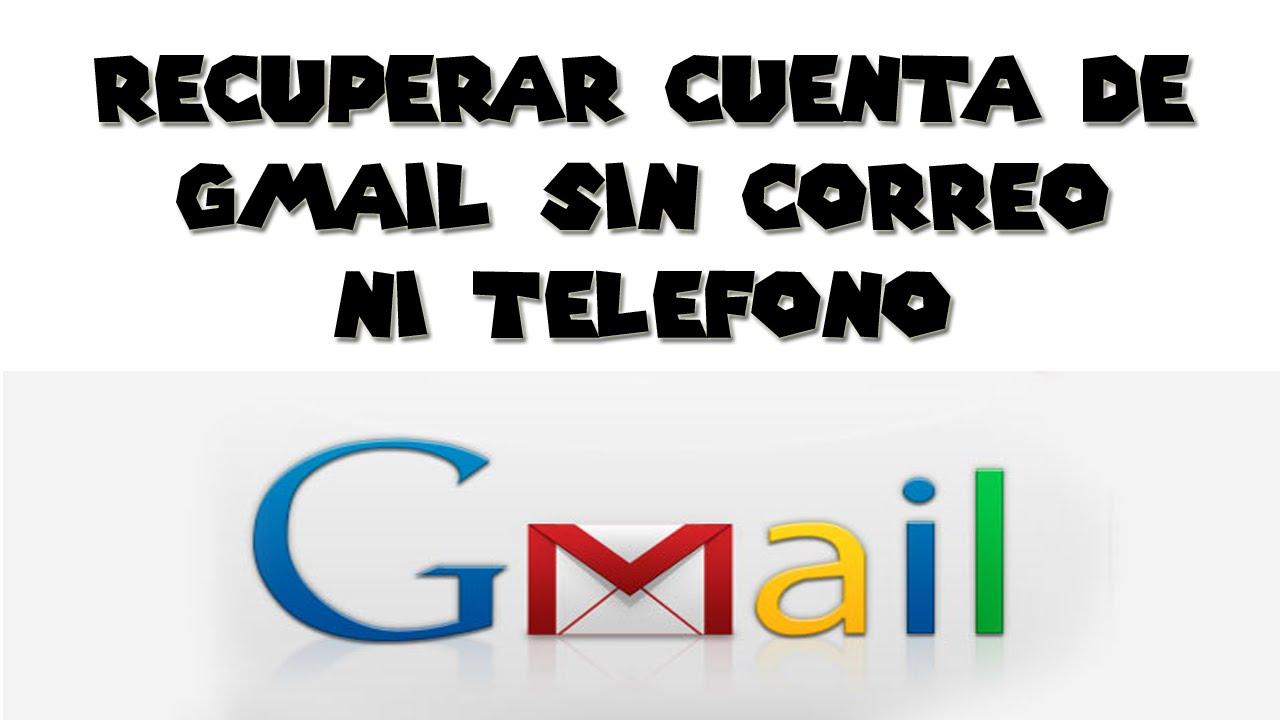 Recuperar contrase a de gmail sin correo ni telefono 2015 for Telefono oficina de correos