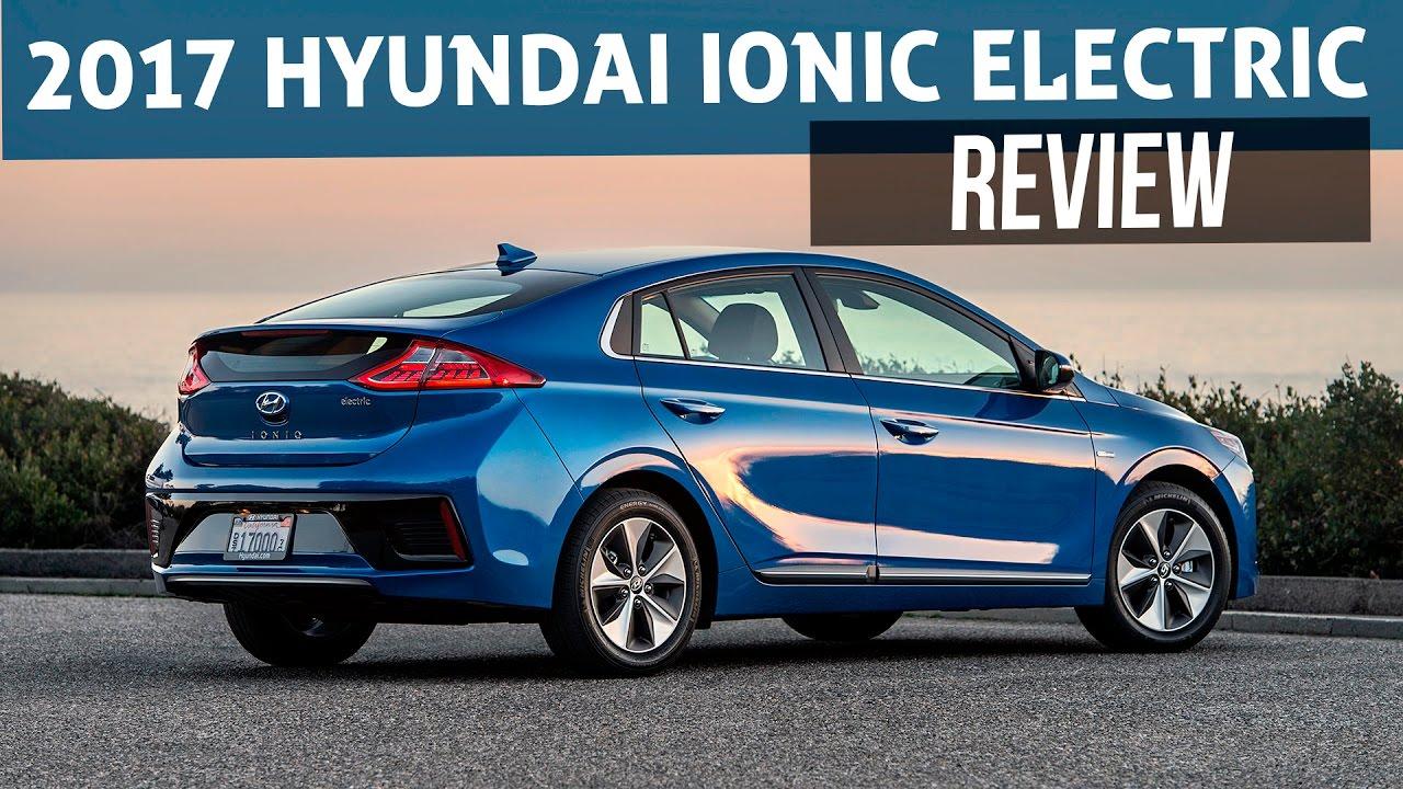 2017 Hyundai Ioniq Electric Car Review