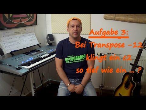 Leichte Lieder am Keyboard spielen lernen - Demo der Vollversion 30min im Onlinekurs