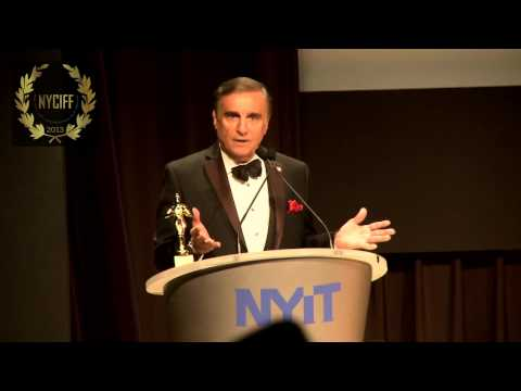 Tony Lo Bianco presented with a Lifetime Achievement Award at NYCIFF 2013 Opening Gala