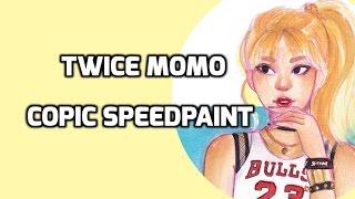 Let's Draw! #51: TWICE Momo COPIC Speedpaint