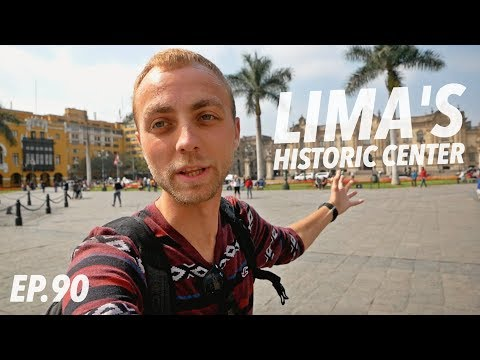 Traveling to Peru? VISIT LIMA! it's really underrated! / Historic City Center