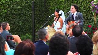 """No Matter Where You Are"" - Us The Duo (Live Wedding Performance)"