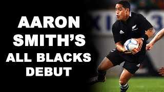 Aaron Smith's All Blacks Debut