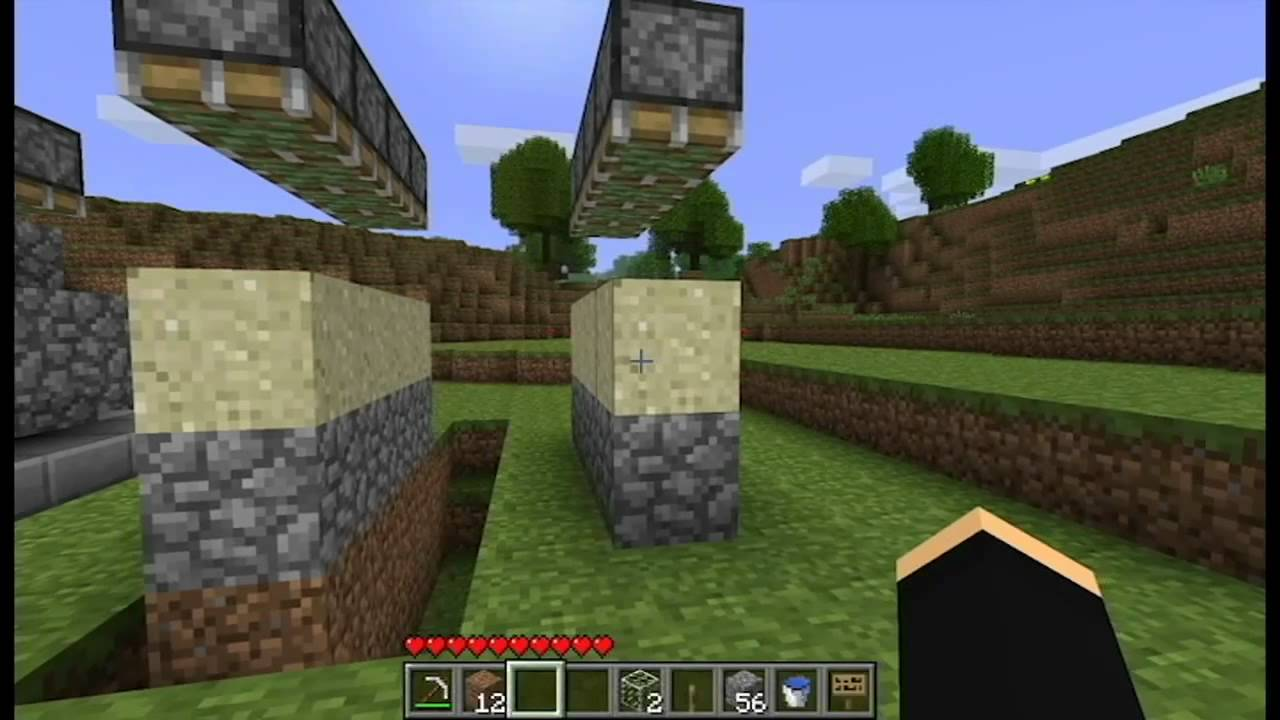 Minecraft 1 7 3 Tutorial Sand And Gravel Generator Ssage Patched Youtube