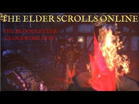 The Elder Scrolls Online: The Bloodletter (Clockwork City)