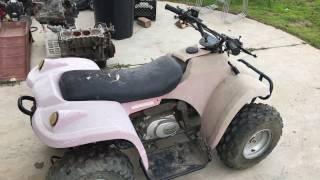 Trashpicked a 90cc Chinese ATV