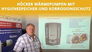 Hygienespeicher und Korrosionsschutz für Wärmepumpen | Höcker Wärmepumpen