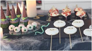Postres fáciles para Halloween | What The Chic Thumbnail
