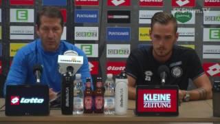 SK Sturm: Mediabriefing vor SK Bad Wimsbach (ÖFB Cup, 2. Runde 2016/17)