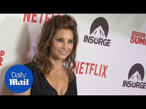 Gina Gershon looks amazing at State Island Summer premiere - Daily Mail