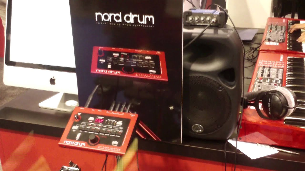 nord drum - 4-channel drum synthesizer @ Sound Service TV
