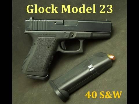 Glock Model 23 Compact 40 S W Youtube