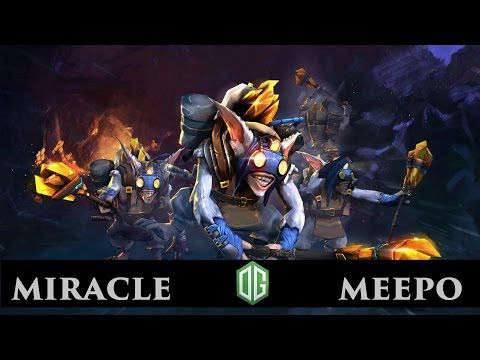Dota 2 Miracle Meepo Player Perspective Ranked Match Full Game