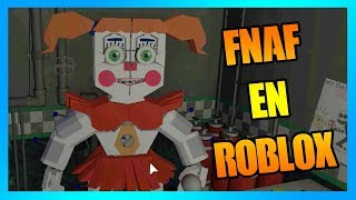 best FNAF made in Roblox game