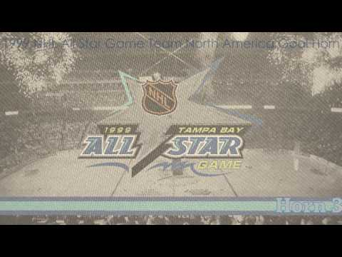 1999 NHL All Star Game Team North America Retro Goal Horns