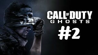 """Call of Duty: Ghosts"" Veteran walkthrough [60FPS], Mission 2 - Brave New World"