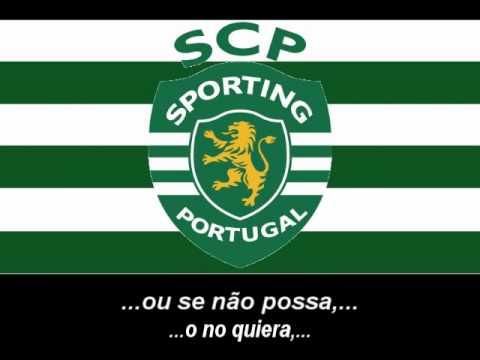 Hino do Sporting CP (Letra) - Himno de Sporting de Lisboa (Letra)