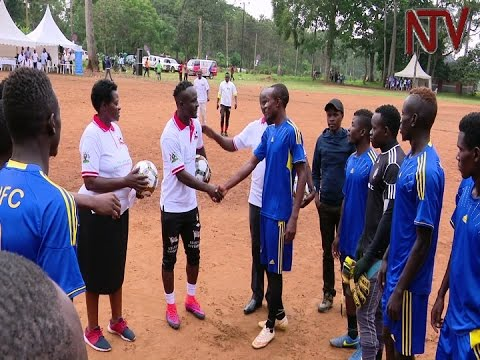 Uganda Cranes midfielder, Tony Mawejje, embarks on HIV/AIDS awareness campaign