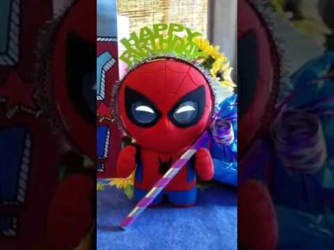 Spider-Man interactive app enabled toy for kids
