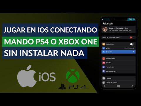 Cómo Jugar en iOS Conectando un Mando de PS4 o Xbox One sin Instalar Nada