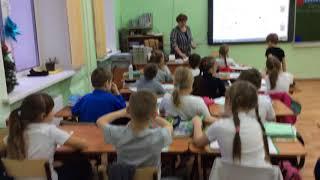 Назарова А.И. Правописание буквы М на уроке обучения грамоте. Фрагмент занятия