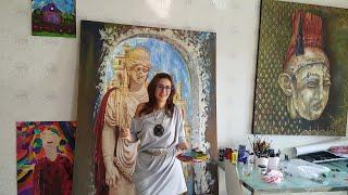 الفنانة السورية الكندية رندا حجازي والجائزة العالمية