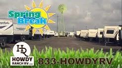 Spring Break RV Sale - Free Family Picnic Package - RV Dealer Corpus Christi to San Antonio, Texas
