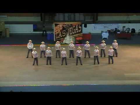 Finale Campionnat de France danse Country 2010 Cabaret Team CLD17