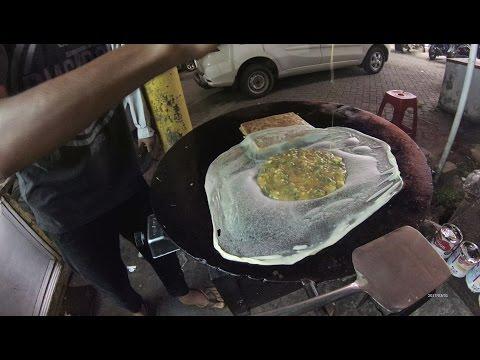 Greater Jakarta Street Food 1312 Part.1 Kubang Super Martabak Jalan Setu Bantar Gebang Bekasi 6009