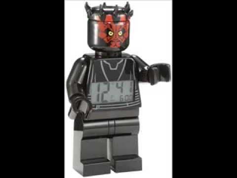 雙寶媽咪─ LEGO人偶鬧鐘系列《達斯魔》全新現貨 (下標前請先詢問唷)
