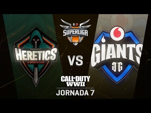 TEAM HERETICS VS VODAFONE GIANTS - SUPERLIGA ORANGE COD - JORNADA 7 - #SuperligaOrangeCOD7