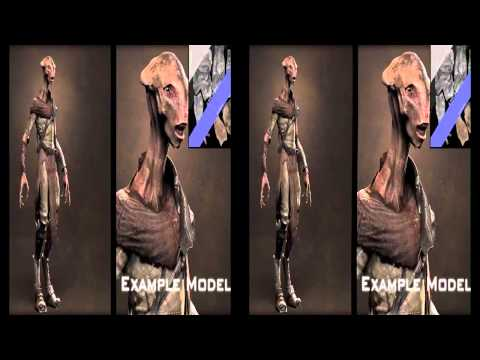 CGI VFX Showreels HD   Games  DESIGN, MODELS, ASSETS by The Aaron Sims Company
