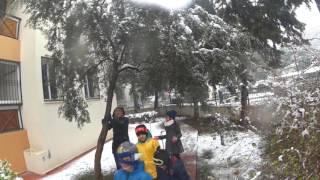 İzmir de böyle kar görülmedi :)