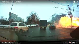 Смотреть видео 2016.12.22. (09:27) Взрыв газового баллона метро Коломенская Москва онлайн
