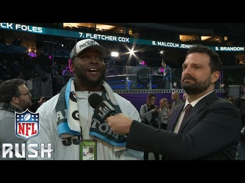 The WORST Questions from Opening Night at Super Bowl LII | NFL RUSH