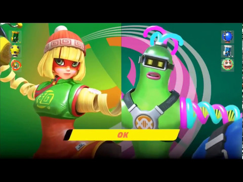 Helix - ARMS - All Tournament Gameplay   Nintendo Switch Exclusive