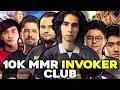 10k MMR INVOKER CLUB - 10k MMR Players with their BEST Invoker Plays in Dota 2 History