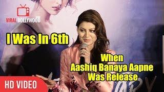 I Was In 6th Standard When Aashiq Banaya Aapne Song Was Released | Urvashi Rautela