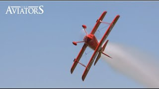 World champion aerobatic aviator Sean D. Tucker in action!