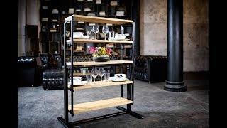 ダイニングテーブルが一瞬でシェルフに変身 ドイツ製『SWING』は日本の住宅事情にもマッチ