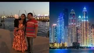 Malayalam Comedy Actor Hareesh Kanaran with Family in Dubai