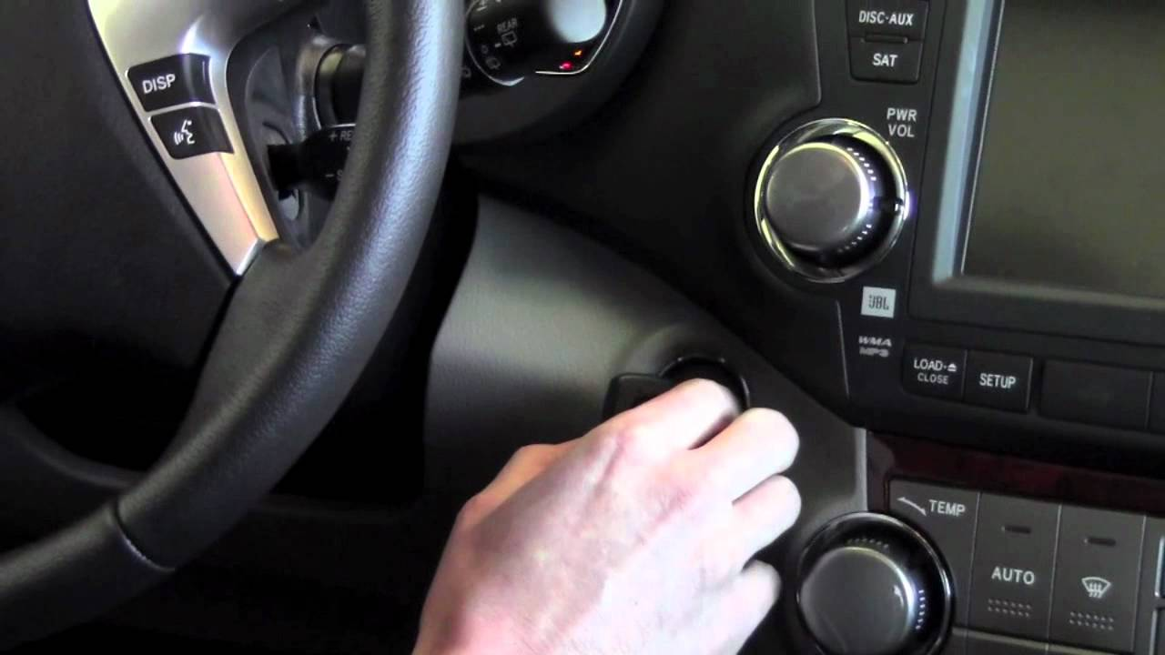 2012 Toyota Highlander Smart Key Low Battery How