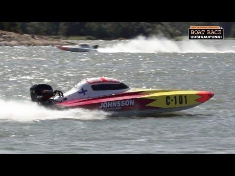 Boat Race Uusikaupunki Finland - Offshore 3C European Championship 2013