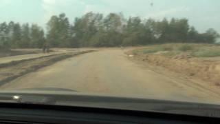 Коттеджный поселок Новорижский (s04e08) 2010-07-22 18:42(Отъезжаю от участка, на котором уже ведётся строительство коттеджа (участок без подряда). Рядом с ним есть..., 2010-07-23T18:49:26.000Z)
